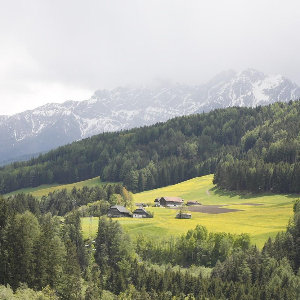 נוף באלפים (צילום: חגי ידידיה)